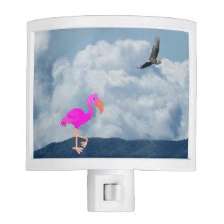 Flamingo And Eagle Night Lights