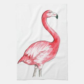 Flamingo Art Kitchen Towel