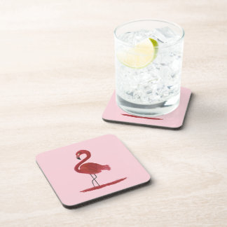 Flamingo Artwork Coaster
