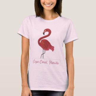 Flamingo Artwork T-Shirt