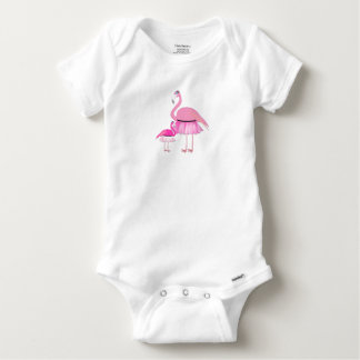 Flamingo Baby Gerber Cotton Outfit Baby Onesie