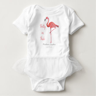Flamingo | Baby Girl | Bodysuit