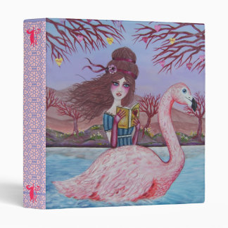 Flamingo Binder