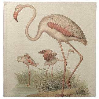 Flamingo bingo napkin
