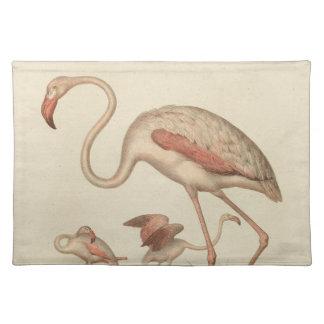 Flamingo bingo placemat