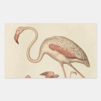 Flamingo bingo sticker