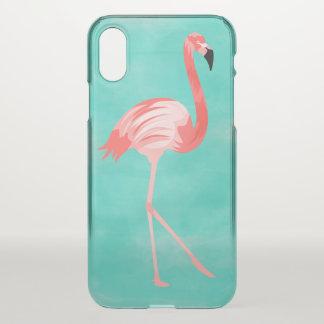 Flamingo Bird iPhone X Case