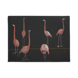 Flamingo Birds Doormat