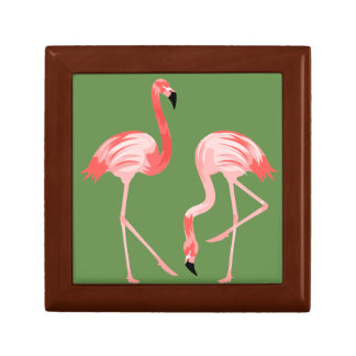 Flamingo Birds Gift Box