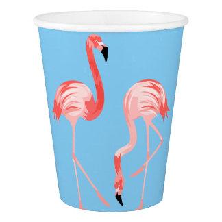 Flamingo Birds Paper Cup