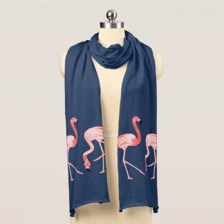 Flamingo Birds Scarf