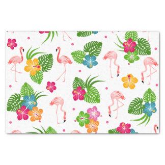 Flamingo Birds Tissue Paper