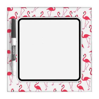 Flamingo Border. Dry Erase Boards