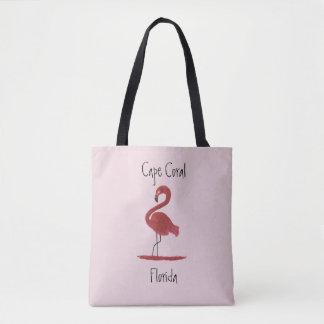 Flamingo - Cape Coral Florida Tote Bag
