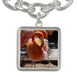 Flamingo Charm Bracelet