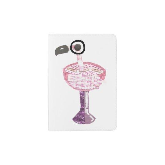 Flamingo Cocktail Passport Holder