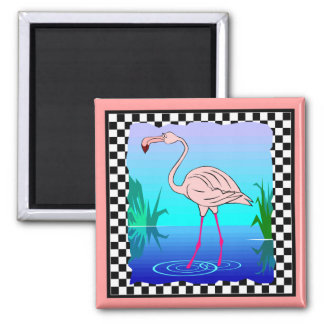 FLAMINGO DESIGN MAGNET