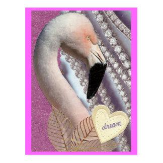 Flamingo Dream Postcard