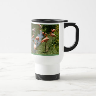 Flamingo Dream Travel Mug