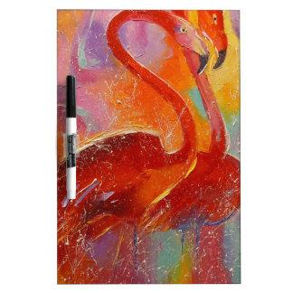 Flamingo Dry-Erase Whiteboards