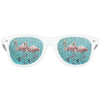 Flamingo Duo Eyes Retro Sunglasses