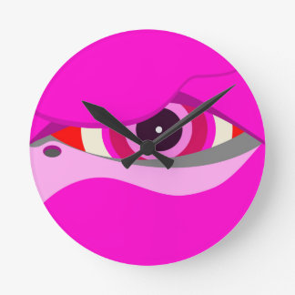 flamingo eye2 wallclocks