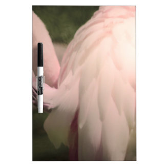 flamingo feathers dry erase boards