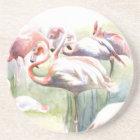 Flamingo Fiesta Coaster