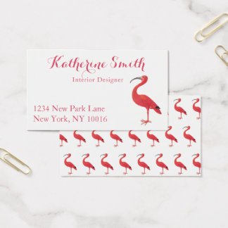 Flamingo - Fine Art Business Cards