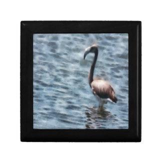 Flamingo Fledgling Watercolor Gift Box