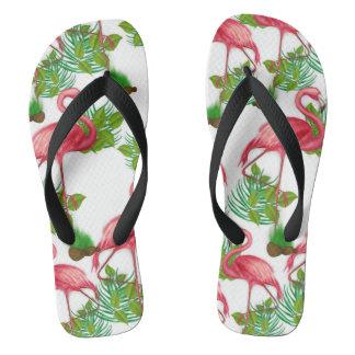 Flamingo Flips Flops Flip Flops
