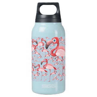 Flamingo Insulated Water Bottle