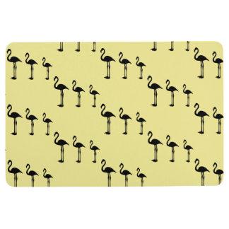 Flamingo Invasion Funky Floor Mat