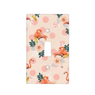 Flamingo Jazz Light Switch Cover