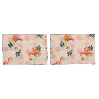 Flamingo Jazz Pillowcase
