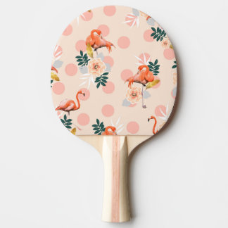 Flamingo Jazz Ping-Pong Paddle