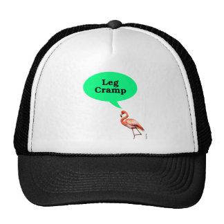Flamingo Leg Cramp Mesh Hats