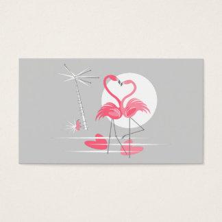 Flamingo Love business card