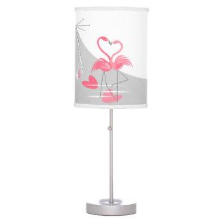 Flamingo Love Large Moon lamp
