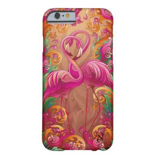 Flamingo Love Monogram IPhone 6 Case