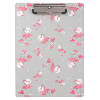 Flamingo Love Multi clipboard