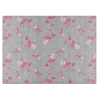 Flamingo Love Multi cutting board