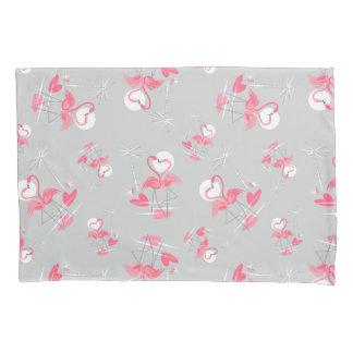 Flamingo Love Multi pillowcase