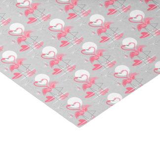 Flamingo Love Multi tissue paper tiled