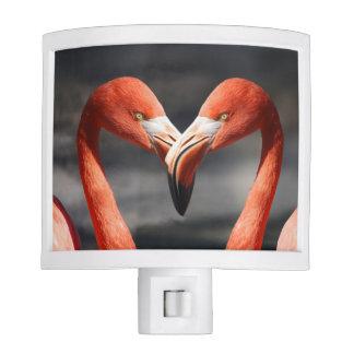 Flamingo Love Night Light