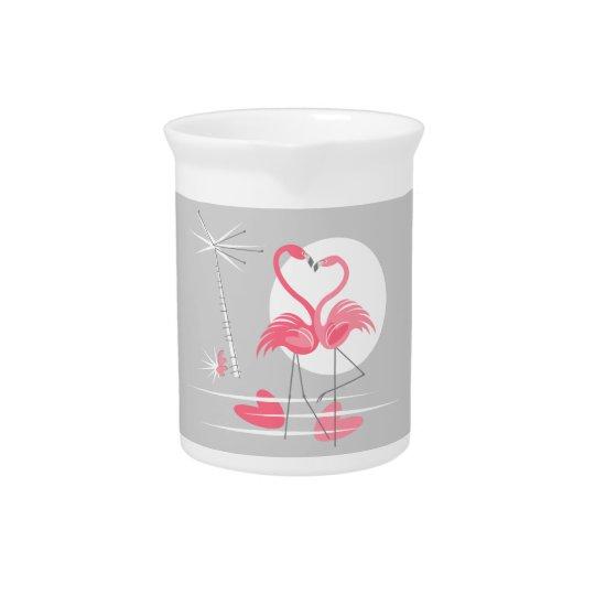 Flamingo Love pitcher