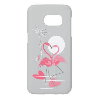 Flamingo Love Samsung Galaxy S7 case