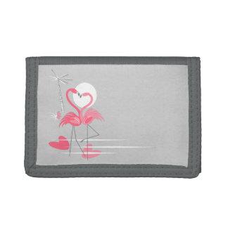 Flamingo Love Side wallet nylon
