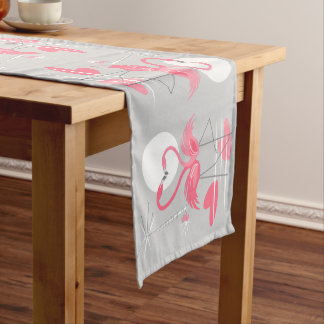 Flamingo Love table runner