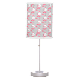 Flamingo Love Tiled lamp